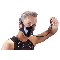 Late X Latex Maske med Oppustelig Gagball