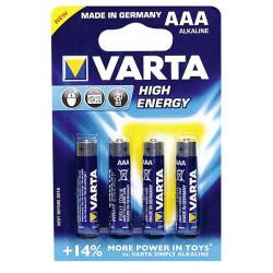 Batterier Varta 4 x AAA