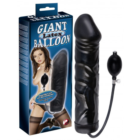 You2Toys Giant Latex Balloon Oppustelig Kæmpe Dildo
