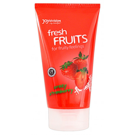 Joydivision fresh FRUITS glidecreme med smag 150 ml