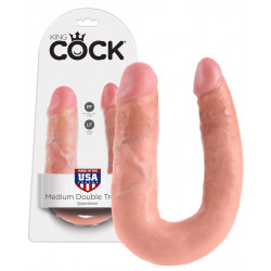 King Cock Medium Double Trouble Dobbelt Dildo