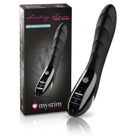 Mystim Sizzling Simon E-Stim Dildo Vibrator