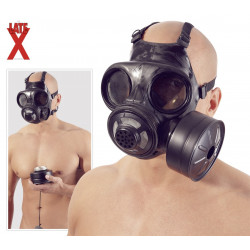 Late X Latex Gasmaske