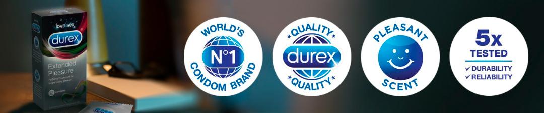 Durex laver kvalitets kondomer og glidecreme
