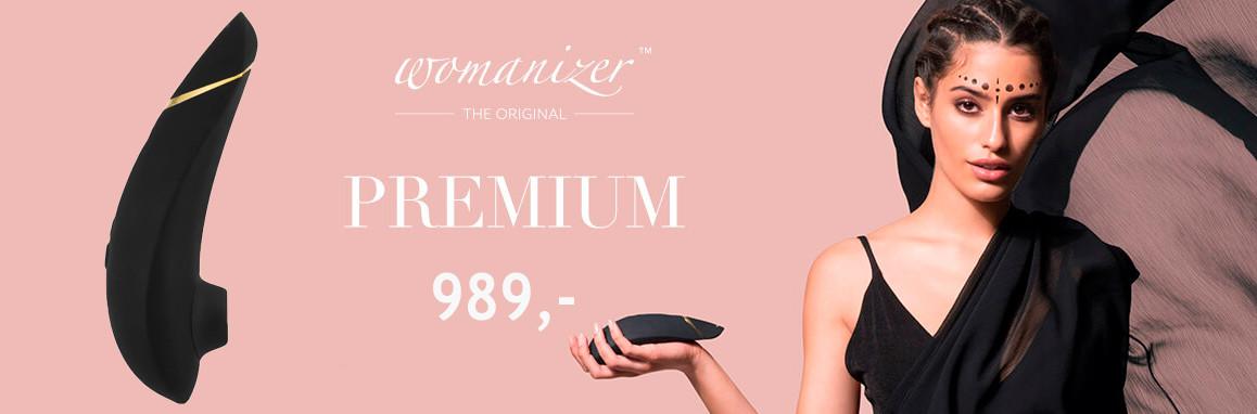 Womanizer Premium Klitoris Stimulator Tilbud