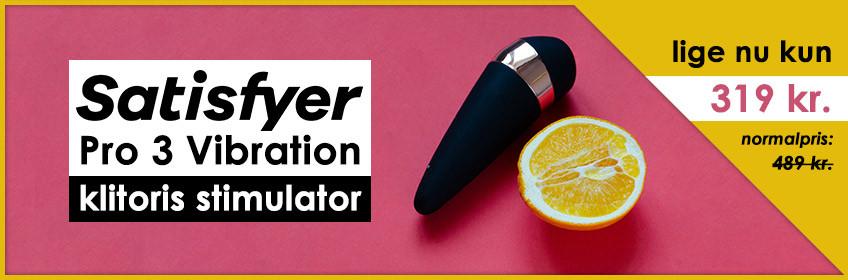 Satisfyer Pro 3 Vibration Klitoris Stimulator